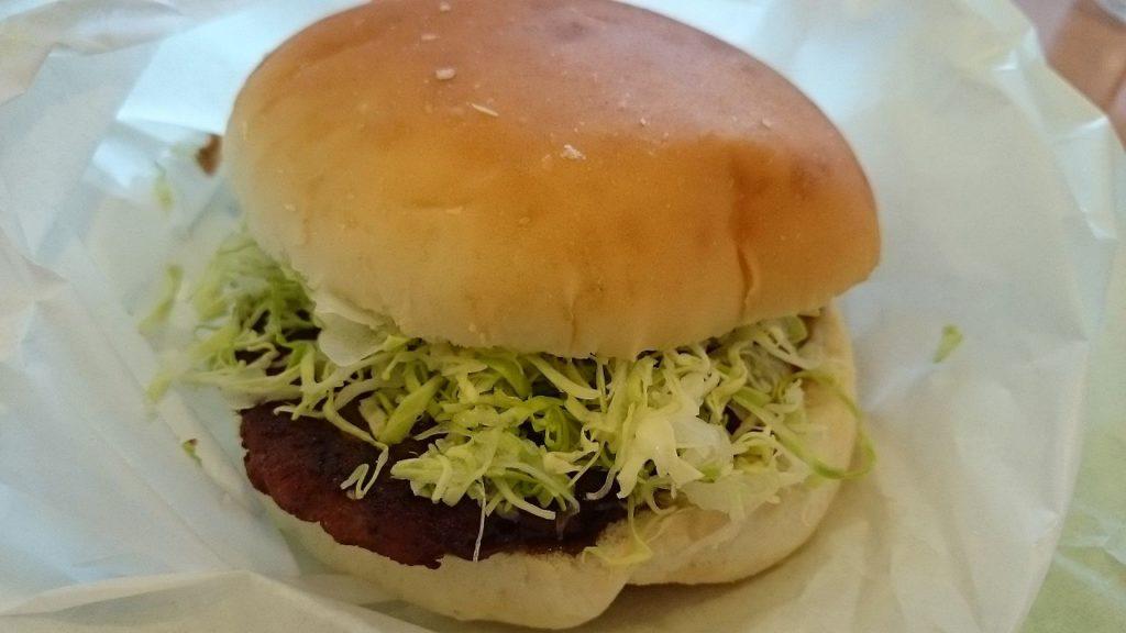 フランス鴨ハンバーガー