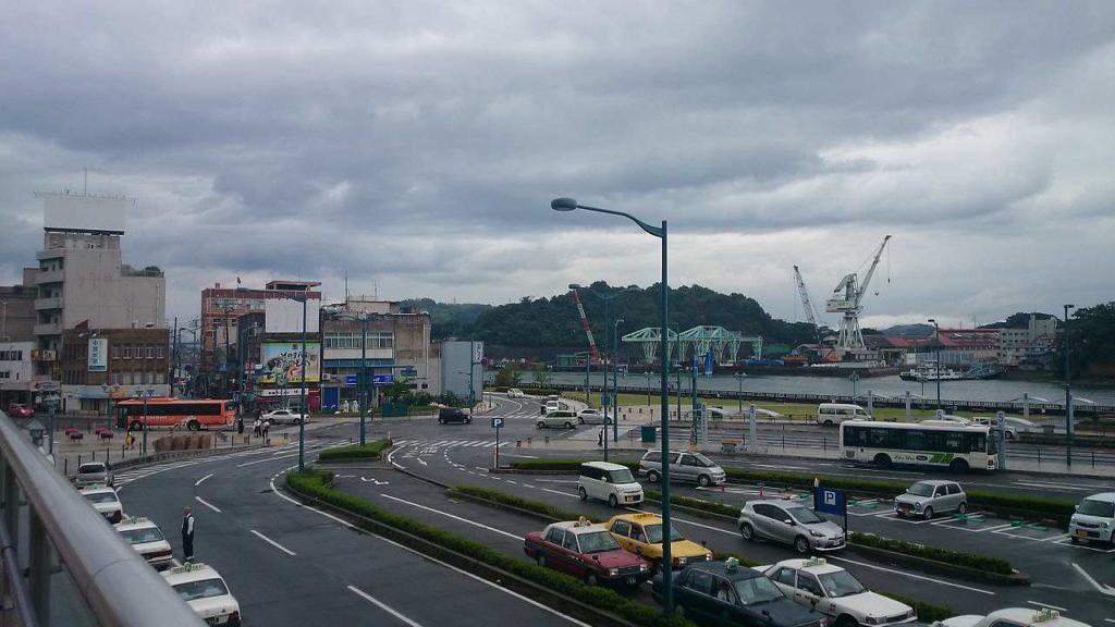 尾道駅からの風景