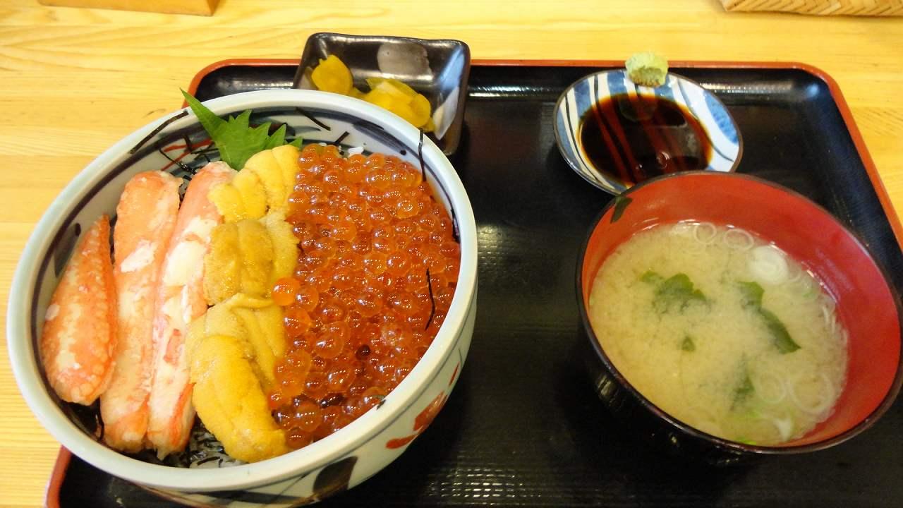 函館海鮮丼