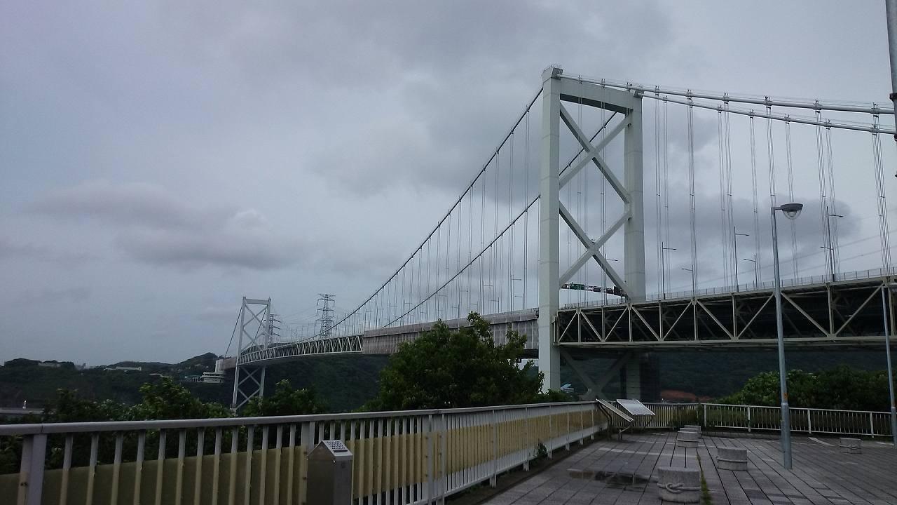 福岡からの関門橋
