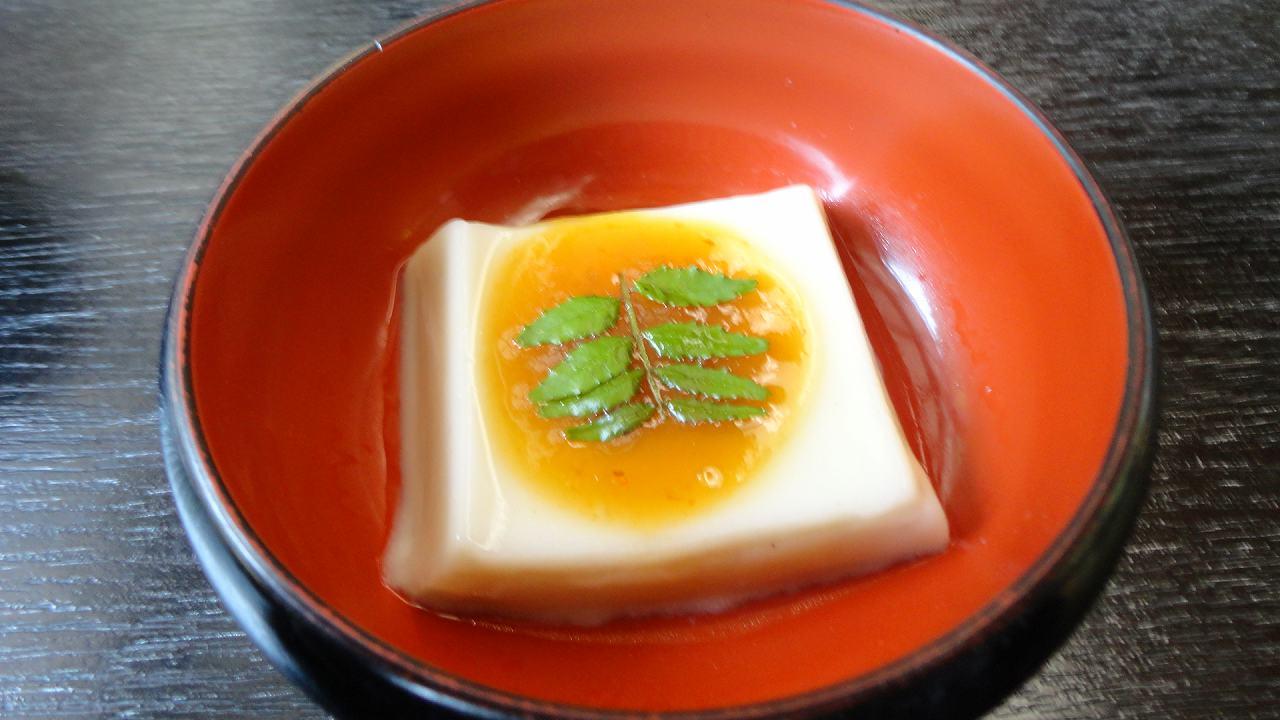 永平寺のごま豆腐