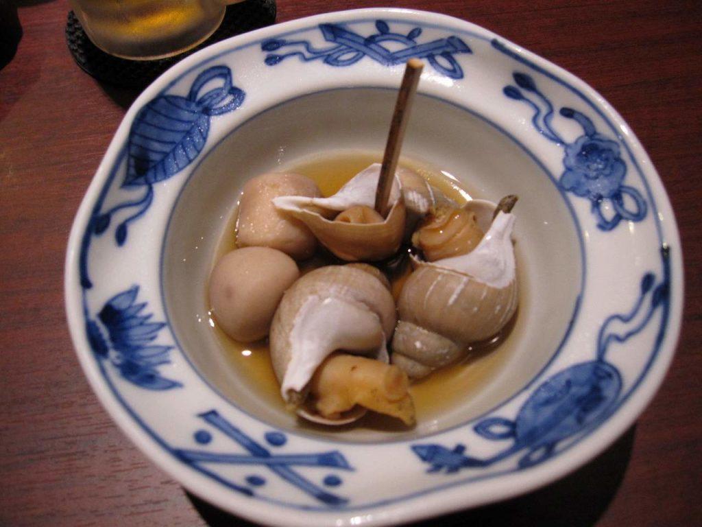 小バイ貝の煮付け