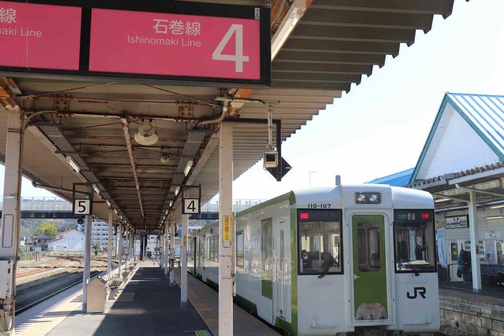 石巻線の電車
