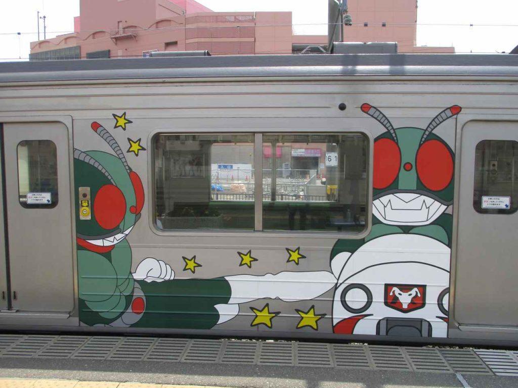 石巻への電車