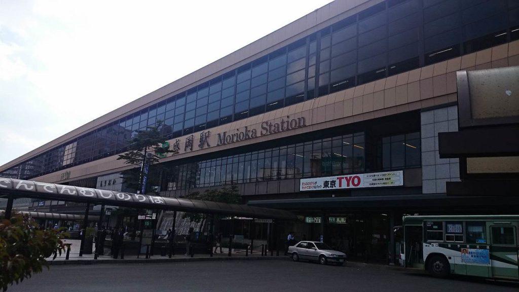 2014年の盛岡駅