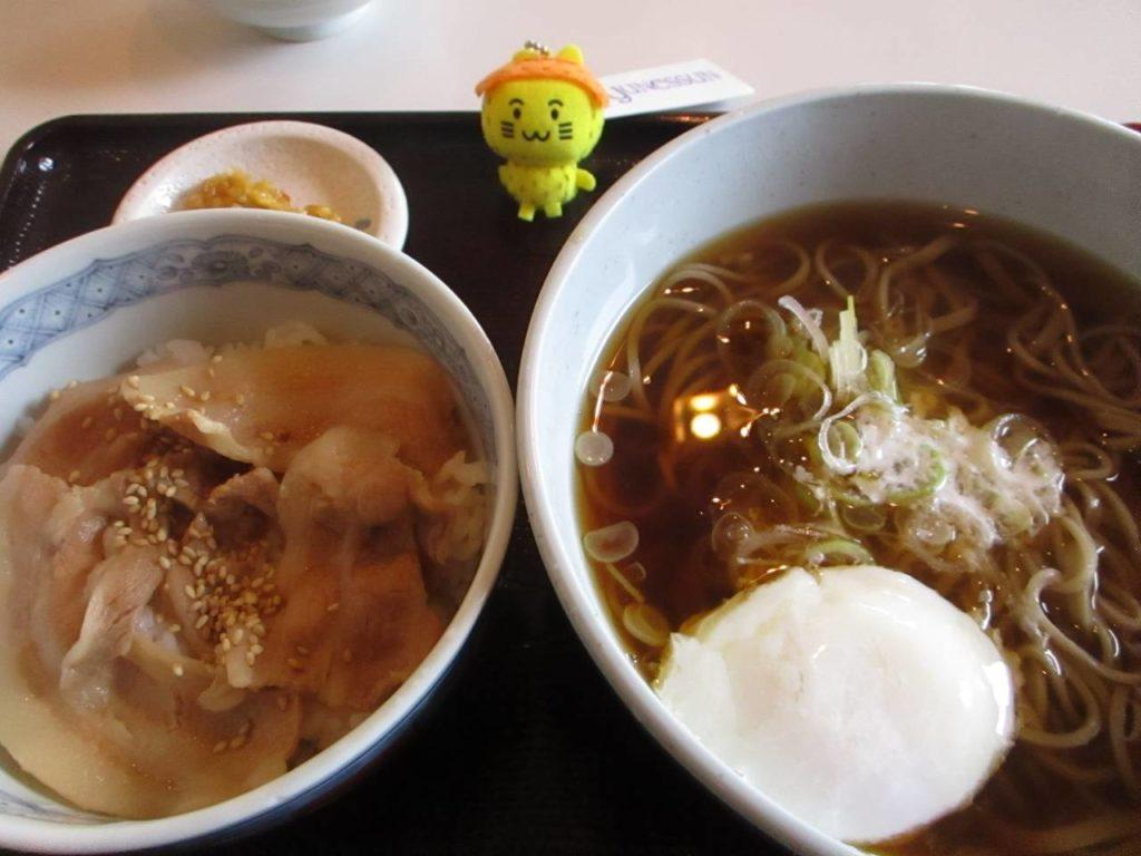 箱根のお蕎麦と山麓豚丼