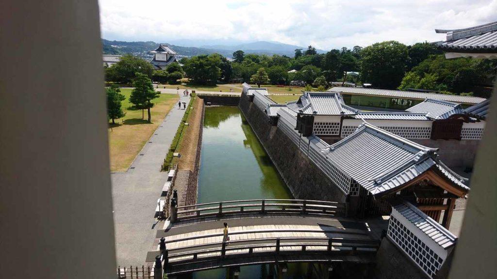金沢城からの風景2018年