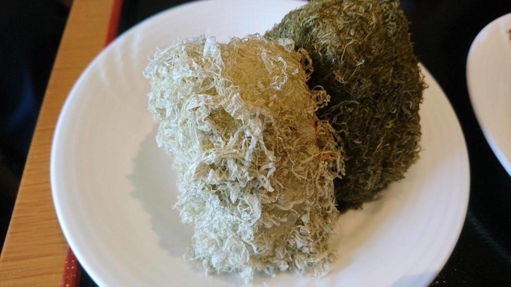 白黒昆布飯