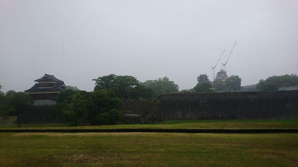 2019年の熊本城外観
