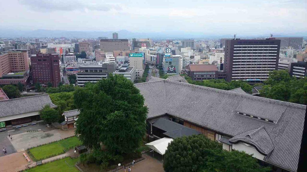 熊本の町並み