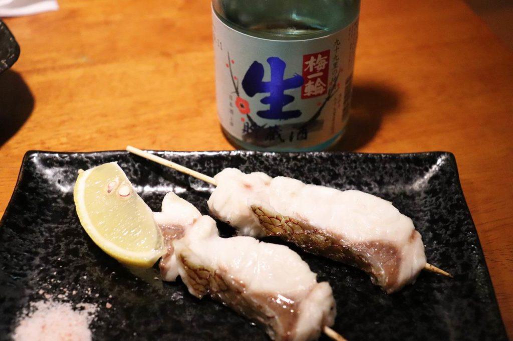 真鯛の串焼き
