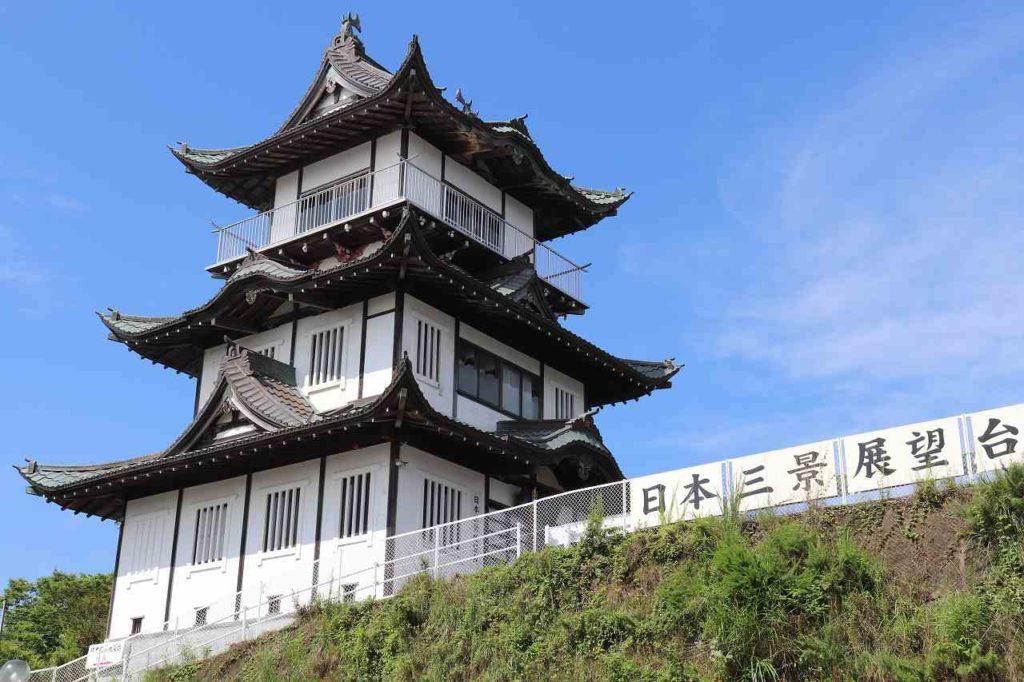 日本三景松島展望台