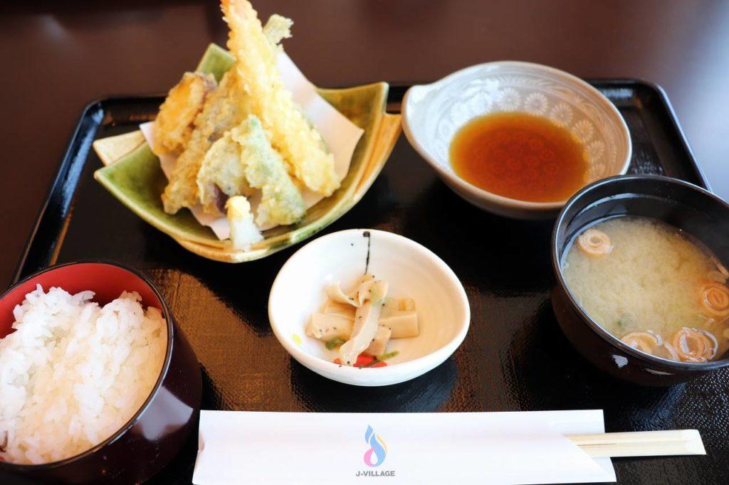 めひかりの天ぷら定食