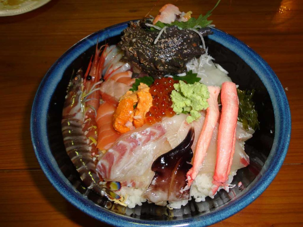鳥羽海鮮丼