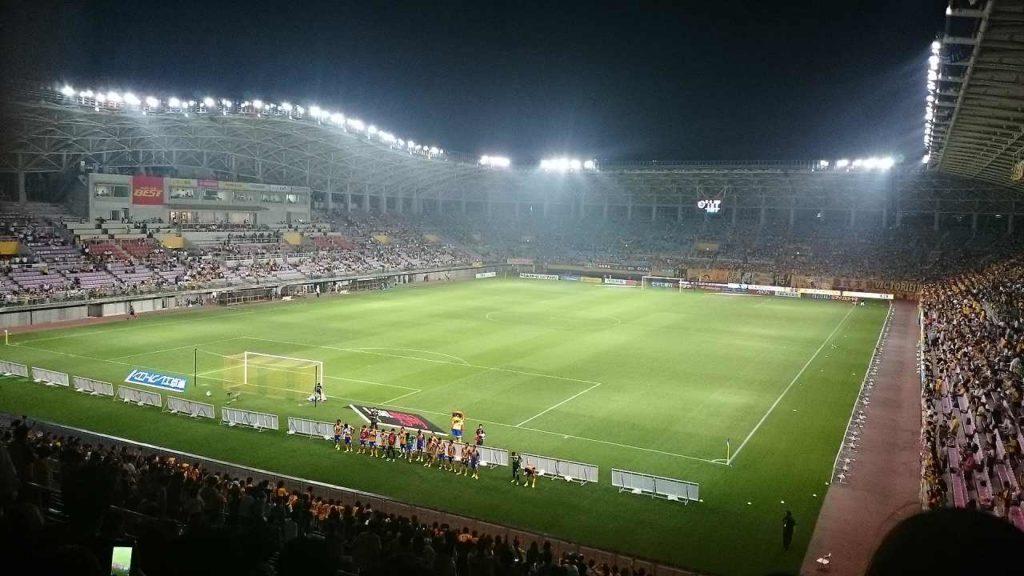 ユアテックスタジアム仙台の外観