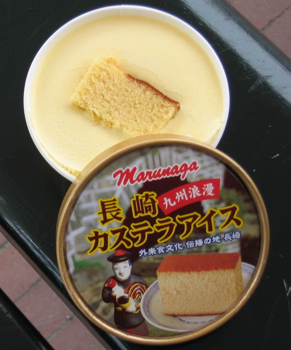 長崎カステラアイス