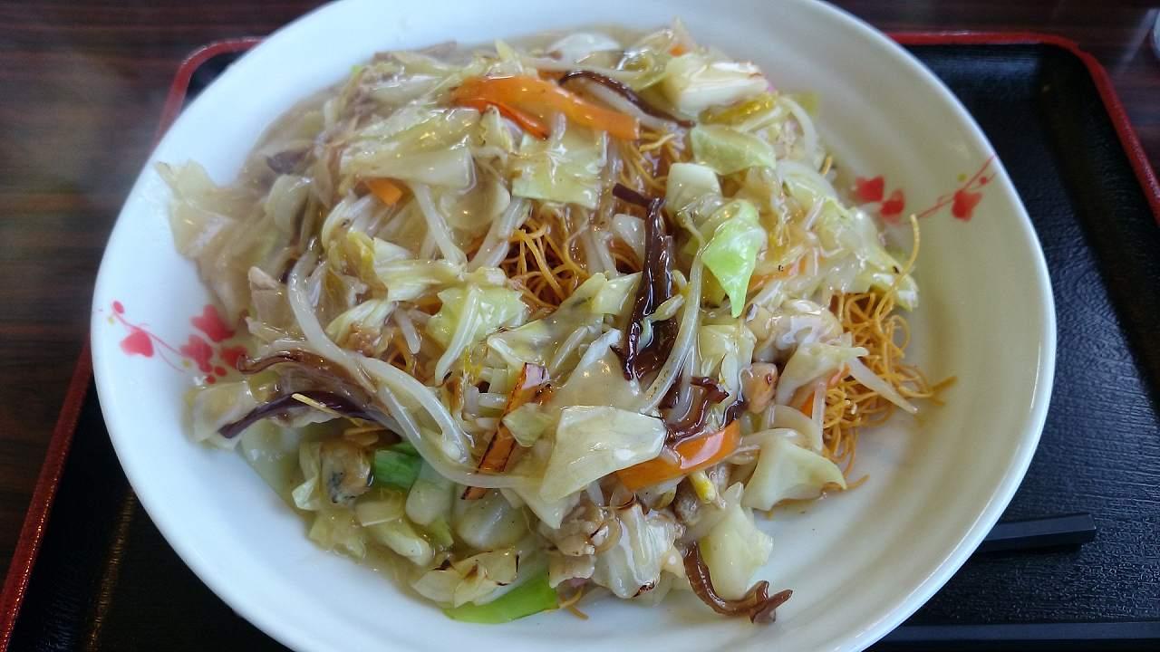 長崎で食べた皿うどん
