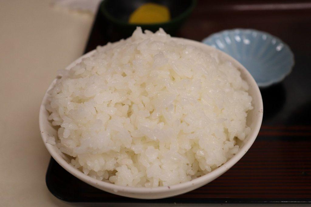 沖縄で白飯