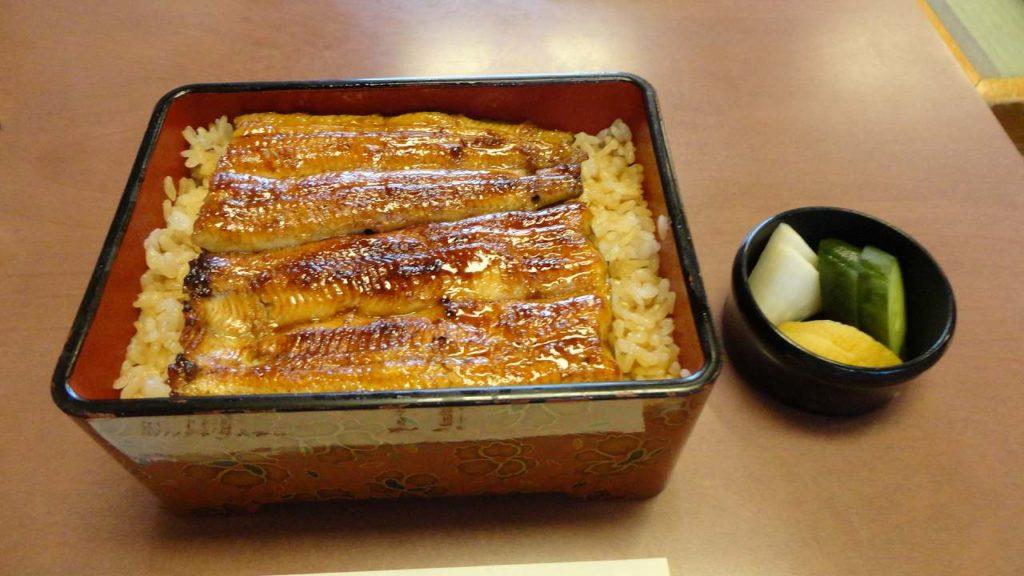 浦和でうなぎを食べる