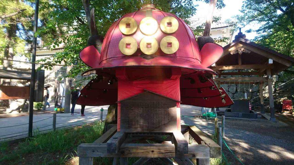 真田神社の赤兜
