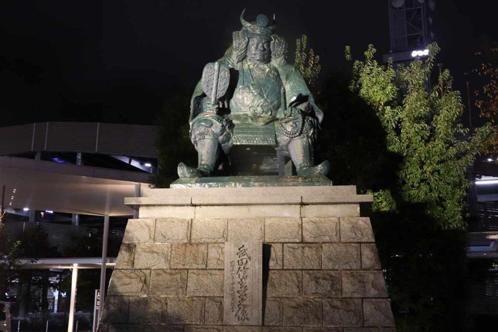 武田信玄像2020年夜