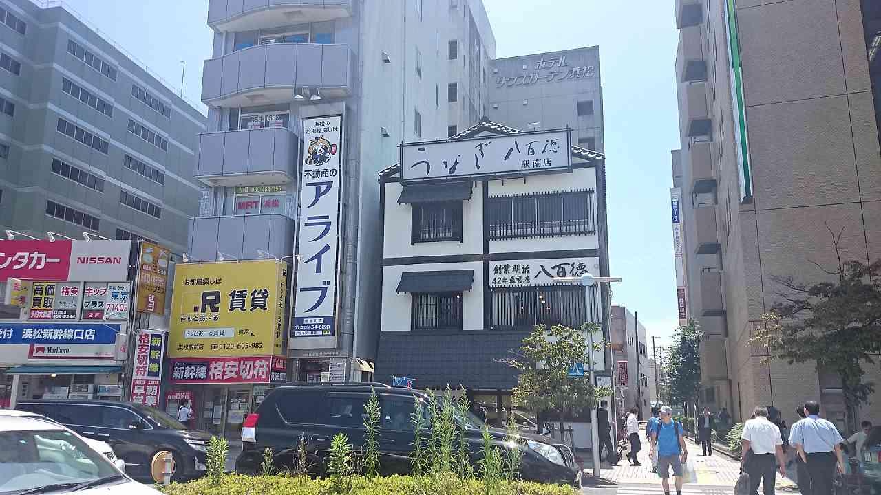 浜松駅南口の様子