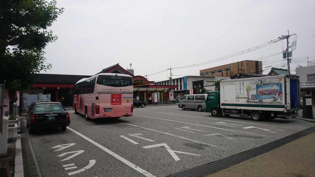 旅人のバス
