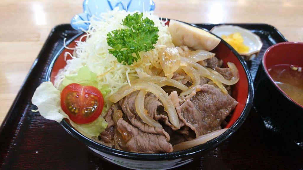 登米産牛焼肉丼