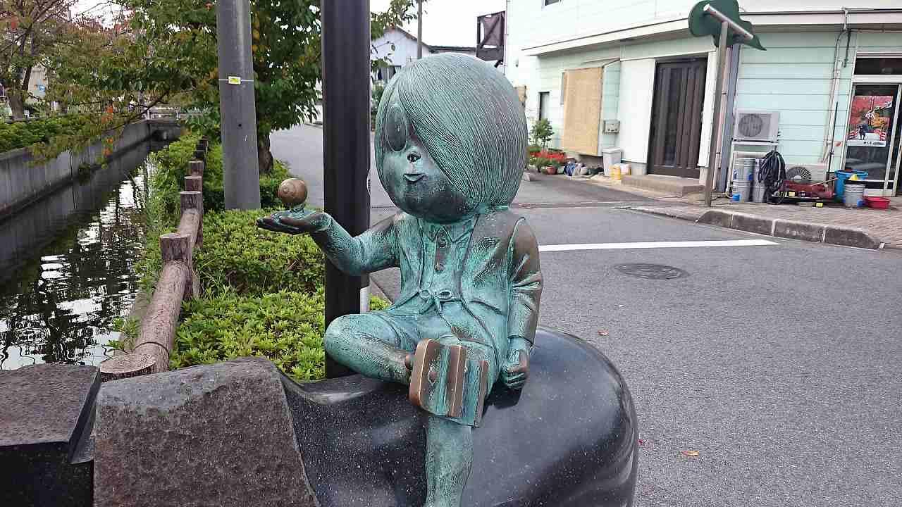 鬼太郎銅像