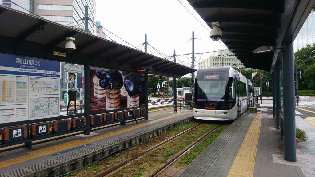 富山の路面電車