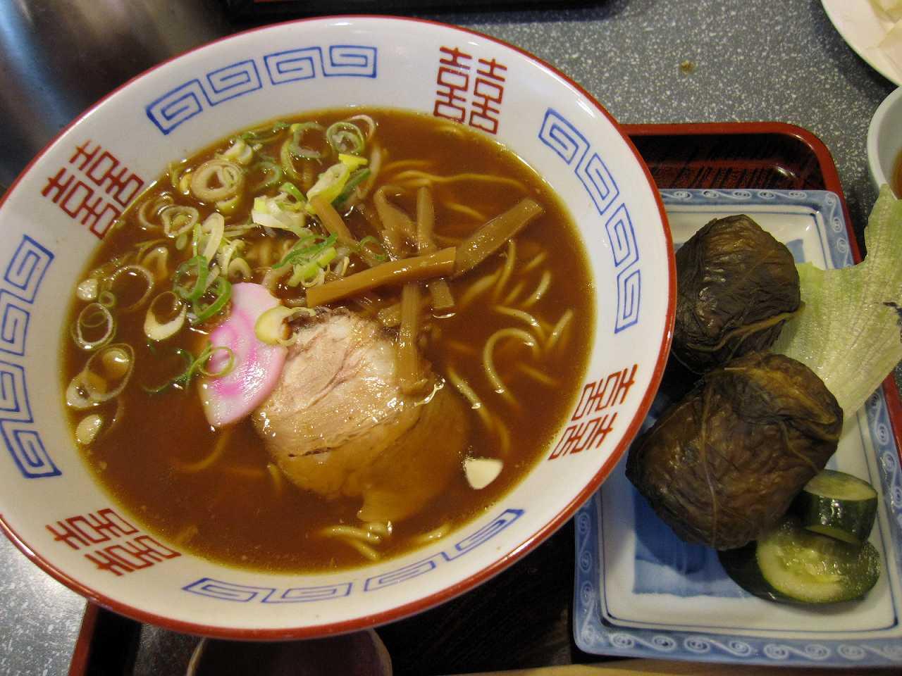和歌山ラーメンとめはり寿司